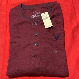 American Eagle Heritage T-Shirt Thermal Small NWT